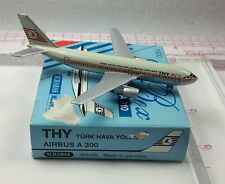 New Vintage Schabak THY Airbus A300 Diecast 1:600 scale