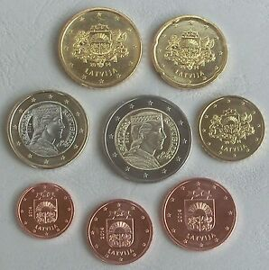 Euro Kms Lettland 2014 Unz Ebay