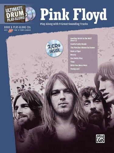 Pink Floyd Ultimate Drum Play-Along DRUM PLAY-ALONG Book and CD NEW 000701166