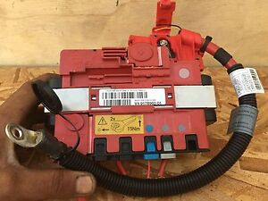 Details about 11 BMW E70 X5 XDRIVE5 POWER DISTRIBUTION FUSE BOX POSITIVE on