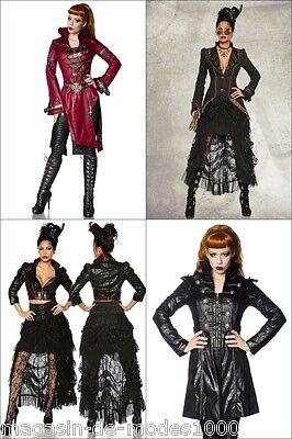 Marchio Di Tendenza Gothic Steampunk-cappotto Frack Costume Carnevale Carnevale-el Frack Kostüm Fasching Karneval It-it Mostra Il Titolo Originale Con Metodi Tradizionali