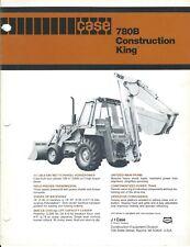 Equipment Brochure Case 780b Construction King Loader Backhoe C1981 E4126