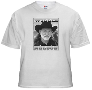 Tee shirt new adult unisex country music legend Willie Nelson cotton t shirt