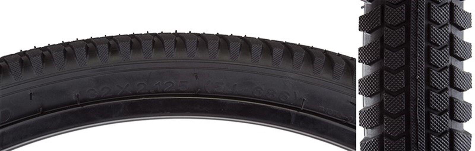 Sunlite Cruiser Directional Tires  - Cruiser - 32X2.125 - 686 - Wire - Bk Blk -