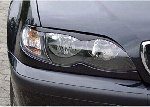 alerones de ceja de ojo Touring Faro Cejas BMW e46 01-05 Salón Facelift