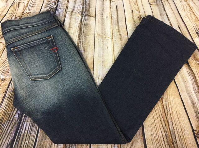 Diesel Industry Zink Bootcut Jeans Womens 28 (29 x 30) Dark Wash Made in Italy