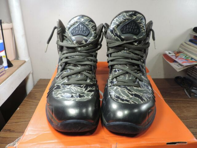reputable site e9d9a 28e66 Nike Air Max Hyperposite Tiger Camo Shoes Men s 12 US 524862 300