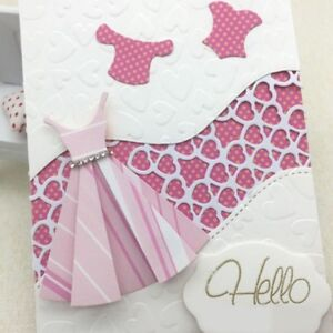 Delicate-Dress-Metal-Cutting-Dies-Stencil-Scrapbook-Paper-Card-Embossing-Best