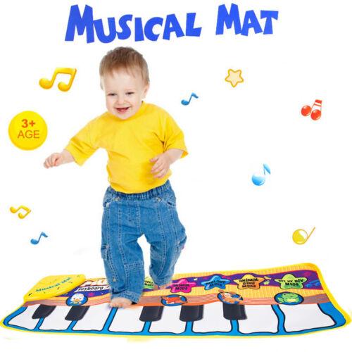 Kids Baby Musical Music Piano Play Mat Development Animal Educational Soft Toys