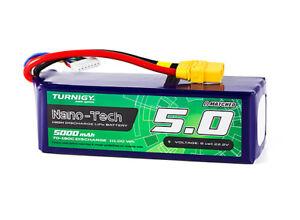 Rc Turnigy Nano-tech Plus 5000mah 6s 70c Lipo Pack W/xt90 La RéPutation D'Abord