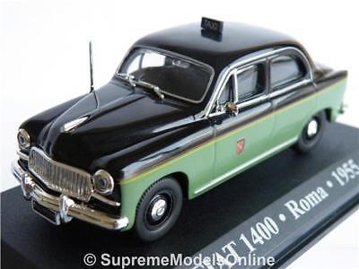 "wonderful modelcar FIAT 1400 /""TAXI ROMA/"" 1955"