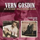 Out of My Heart/Nickels & Dimes & Love * by Vern Gosdin (CD, Jul-2016, 2 Discs, Morello Records)