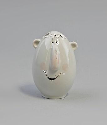 Responsible Porcelain S/p-streuer Eierkopp Caricature W&a Vorm.adam&ziege H8cm 9942715 To Have A Long Historical Standing Antiques Decorative Arts