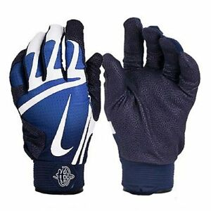 Image is loading NIKE-HUARACHE-PRO-Batting-Gloves-Blue