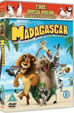 MADAGASCAR & Penguins Christmas Caper Ben Stiller Animated 2 Disc Sp Ed DVD *EXC