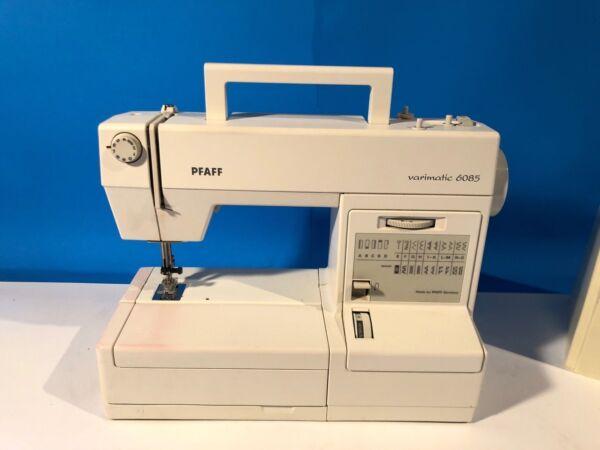 PFAFF Varimatic 6085 Sewing Machine Case Foot Contoller ...