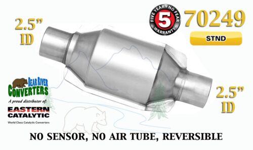 "70249 Eastern Universal Catalytic Converter Standard 2.5"" 2 1//2"" Pipe 8"" Body"