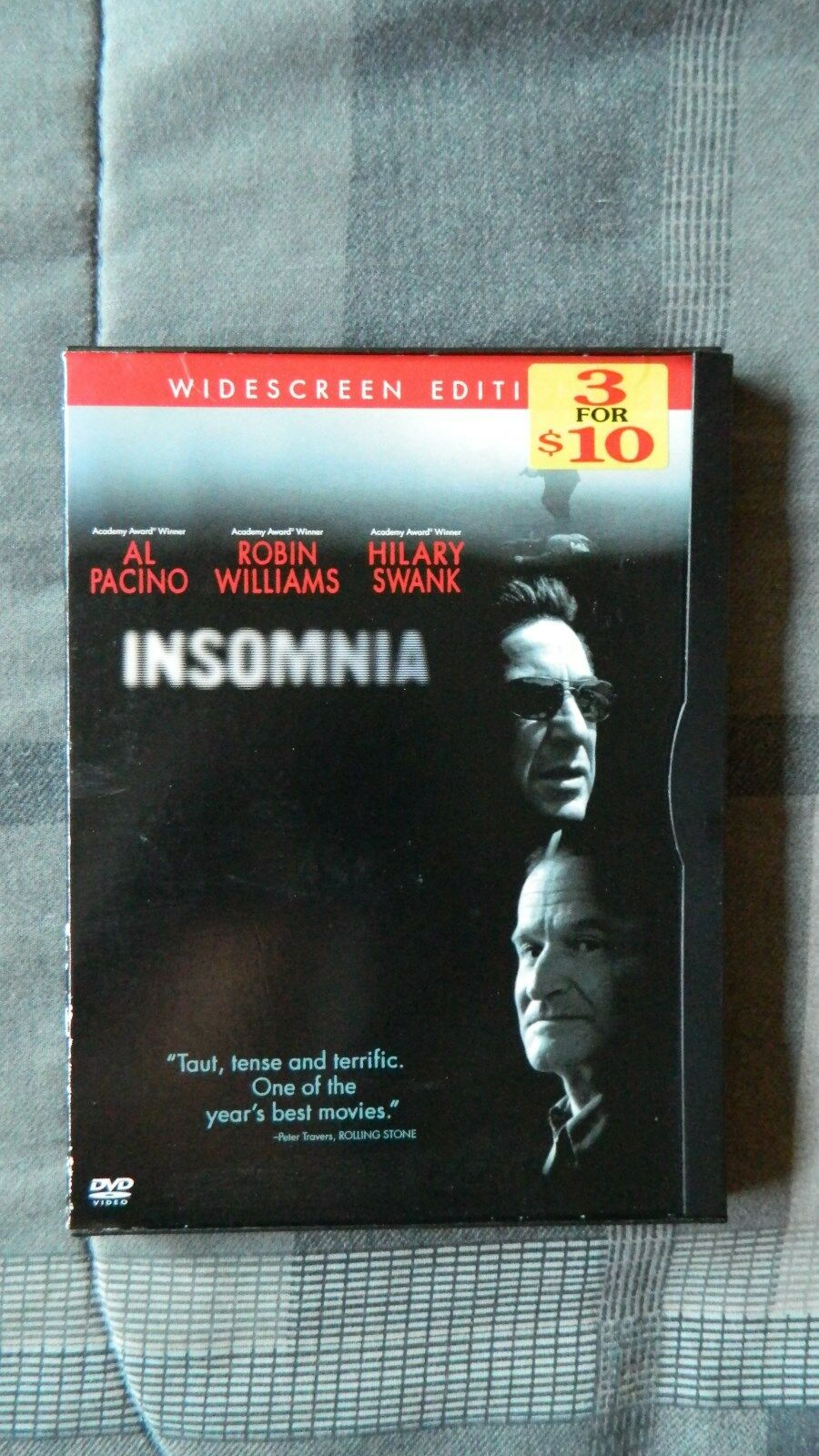 Insomnia (DVD, 2002, Widescreen, Al Pacino, Robin Williams, Hilary Swank) 1