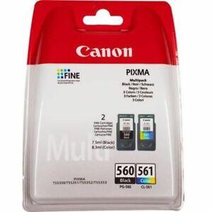 Canon Pack 2 Cartouches encre PG-560/CL-561 - Noir + Couleur