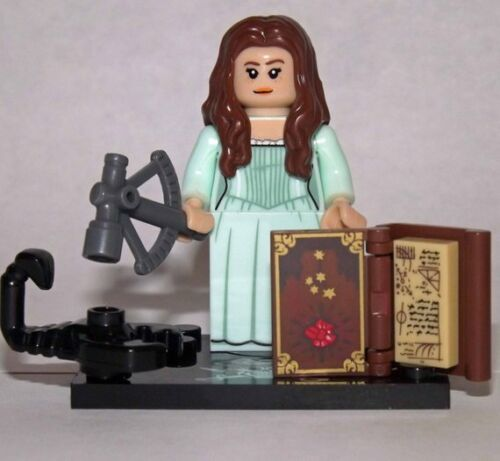Carina Smith Movie custom minifigure Pirates of the Caribbean Minifig For LEGO