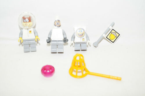 LEGO SPONGE BOB SPACE 3 Minifiguren aus 3831 Sandy Patrick Spongebob LEGO Baukästen & Sets Baukästen & Konstruktion