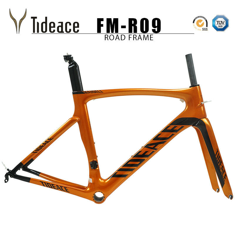 700c Road Racing Cycling bicycle frames 49 52 54 56 58cm pf30 glossy fotogramas OEM