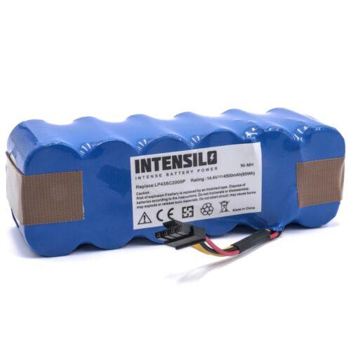 original intensilo® Akku 4.500mAh für Sichler Saugroboter PCR-3550UV PCR-2000