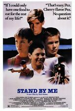 STAND BY ME Movie PHOTO Print POSTER Textless Art Rob Reiner River Phoenix 001