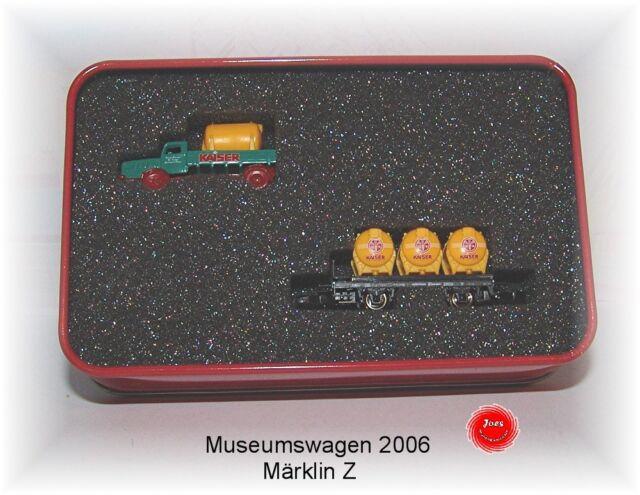 """Märklin Gauge Z Museum Wagon 2006 """"Emperor WITH METAL TRUCKS #neu in Ovp #"""