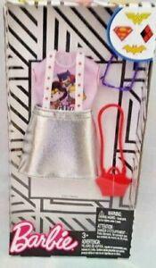 Barbie-DC-Comics-Power-Girl-Fashion-Pack-FKR81-NEW