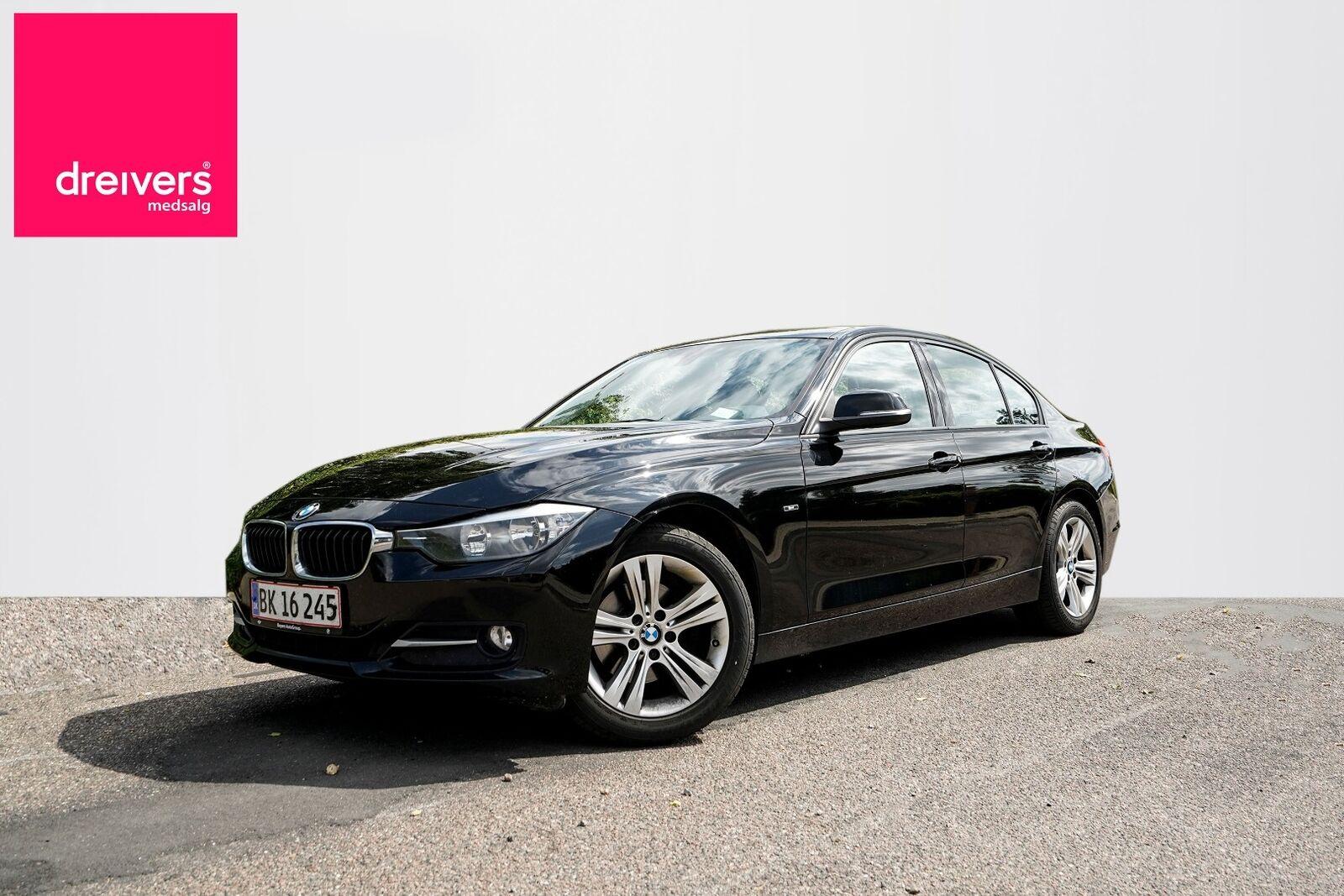 BMW 320d 2,0  4d - 164.500 kr.