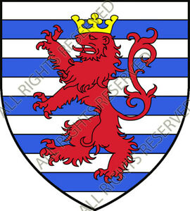 1-Luxemburgo-Escudo-Blazon-Heraldry-Pegatina-Adhesivo-PVC