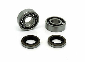Crankshaft Bearings Oil Seals Gasket Set Fits Husqvarna  357xp 357 359