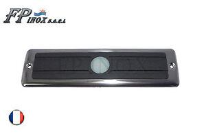 Marche Pied LED antidérapant avec Encadrement 213mm inox Tension 12V