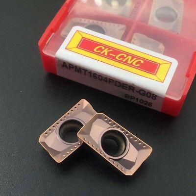 High quality 10P APMT1135PDER-FM P6115 CNC Carbide Milling insert For steel