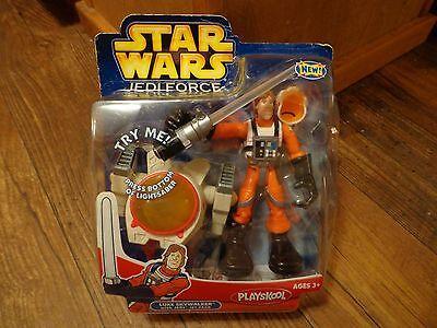 DISNEY HASBRO Luke Skywalker Star Wars Boneco De Ação Colecionável 3.75IN