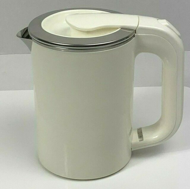 Mini Electric Kettle1000ml Portable Travel Water Boiler 120-240W Stainless Steel