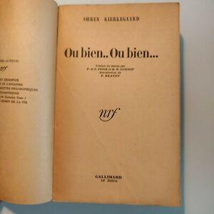 OU-BIEN-OU-BIEN-KIERKEGAARD-SOEREN-Edite-par-Gallimard-NRF