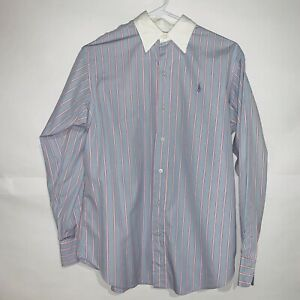 3c2e86c22 Image is loading Vintage-Polo-Sport-ralph-lauren-Long-Sleeves-Pink-