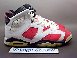wholesale dealer d26fd e386a Girls' Nike Air Jordan VI 6 Coral Rose Pink Retro GS 2010 sz 7Y | eBay