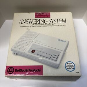 Bell-South-Memento-1106-Telephone-Answering-Machine-System-w-Microcassette