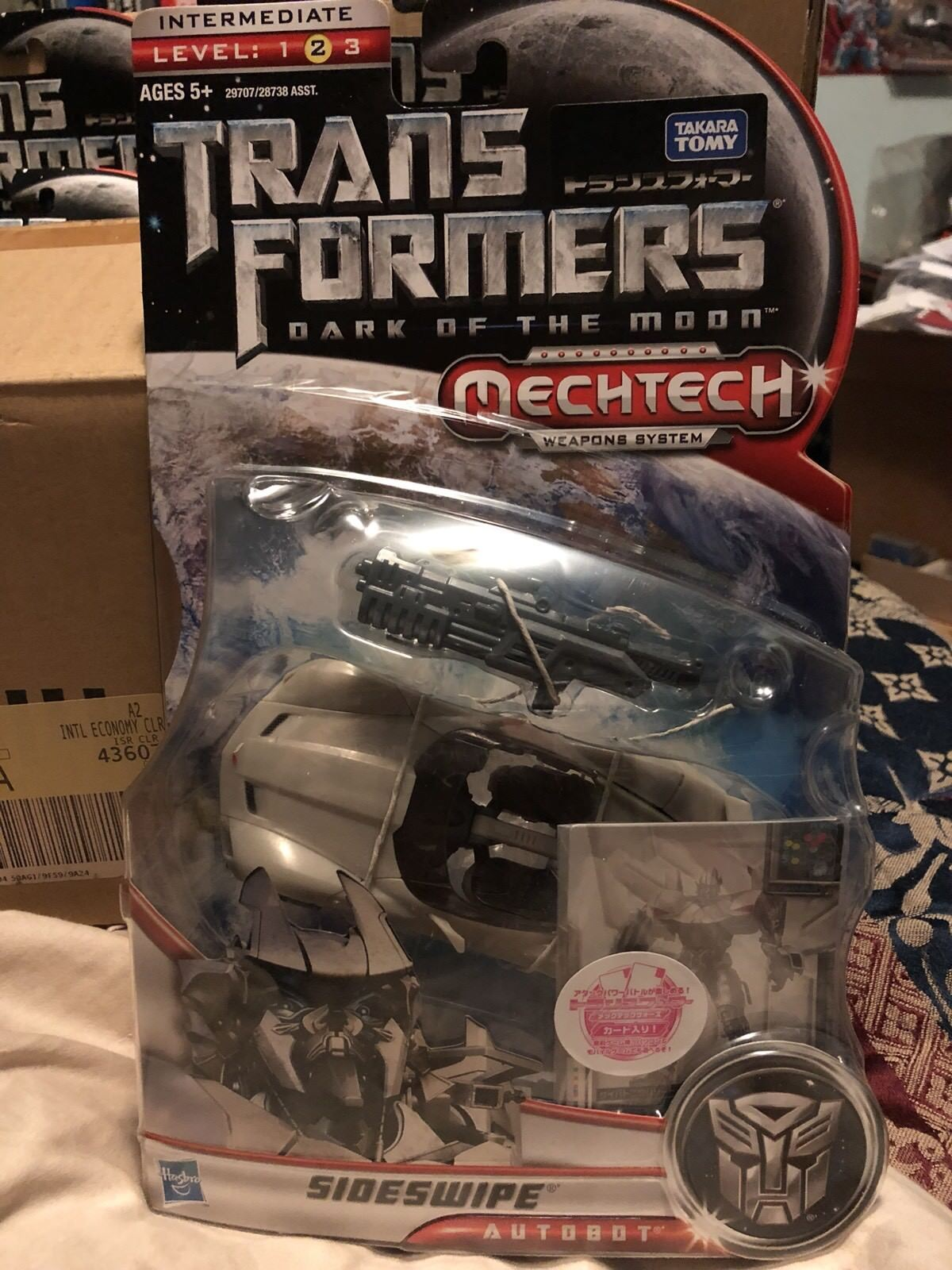 Transformers Dark Of The Moon DA-08 Sideswipe Japanese Version MOC