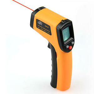 Temperature Gun Non-contact LCD Digital Laser Infrared IR Thermometer