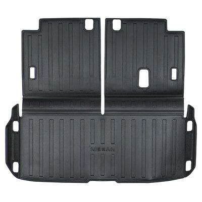 OEM NEW Rear Cargo Area Mat Protector Black 2017-2018 Nissan Armada T99C3-6MA0A