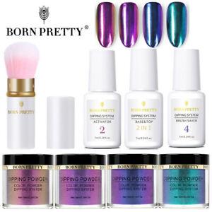 8Pcs-BORN-PRETTY-Chameleon-Dipping-Powder-Liquid-Brush-Polish-Starter-Kit
