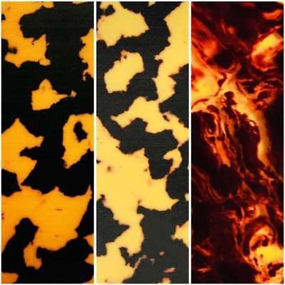 Incudo Tortoiseshell Celluloid Laminate Acrylic Sheet