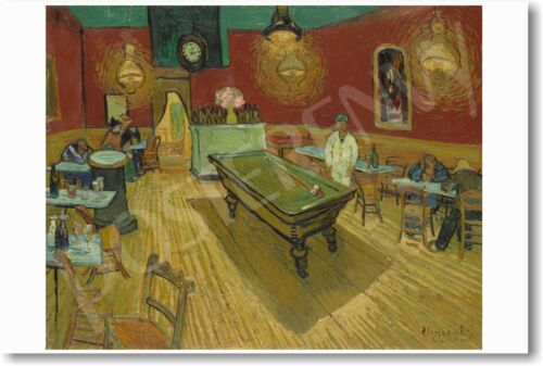 Vincent van Gogh NEW Dutch Art Print POSTER The Night Cafe 1888