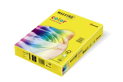 A3 Mondi Maestro Color Papier Farbiges Druckerpapier 80 120 160g//m² DIN-A4