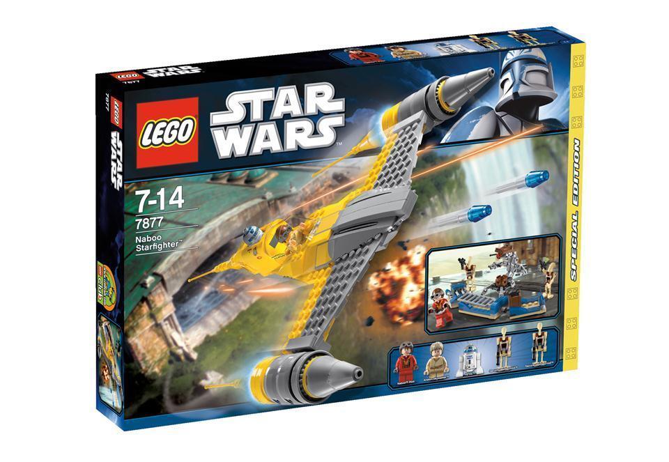Lego StarWars Naboo Starfighter 7877 NEU &OVP