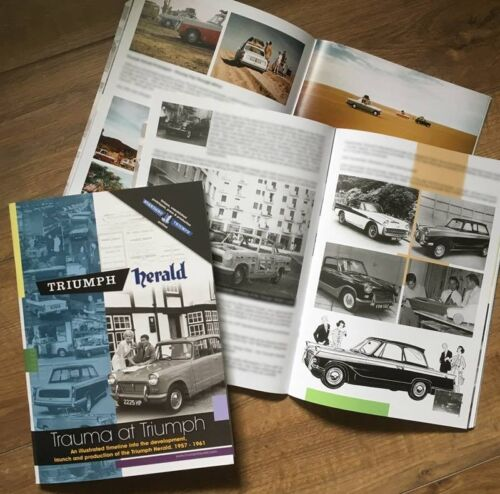 Standard Triumph Herald Limited Edition Book